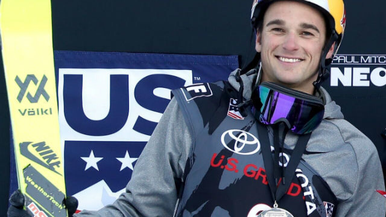 Nick Goepper Skiing