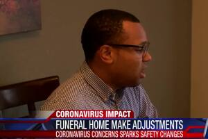 Funeral homes make adjustments to services