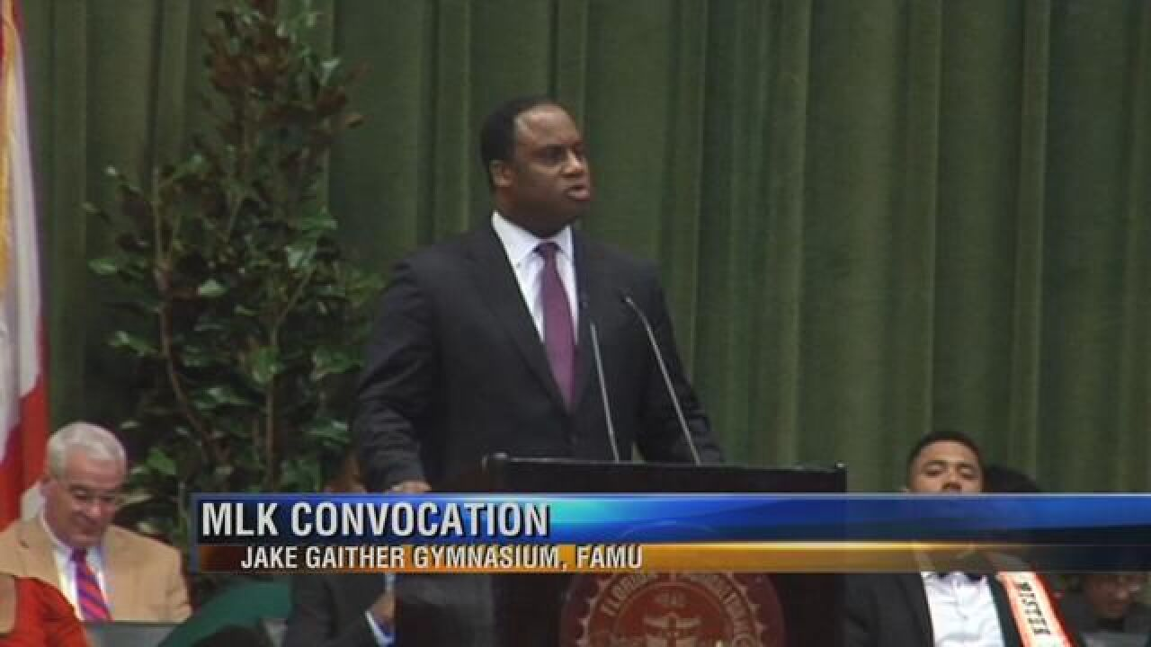 Jessie Jackson's Son Reflects on Civil Rights Battle at FAMU Convocation
