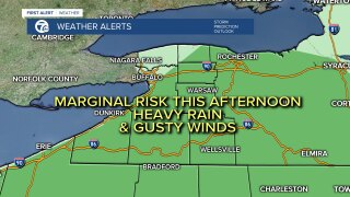 Storm threat for Western New York this afternoon