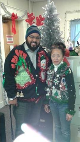 Yes! Pics: Ugly Christmas Sweaters