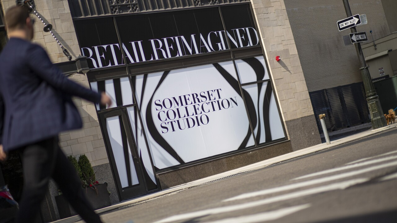 Somerset Collection to open storefront at Metropolitan ...