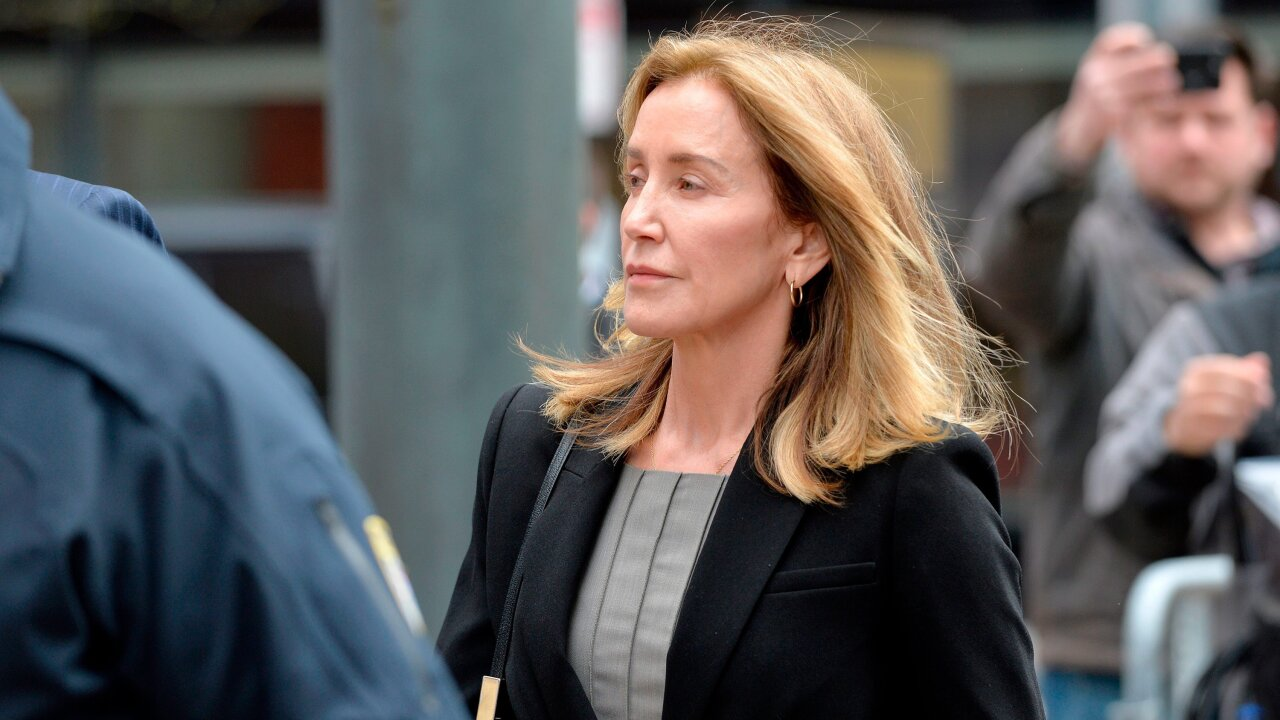 Felicity Huffman is set to become the first parent sentenced for the college admissions scandal Friday