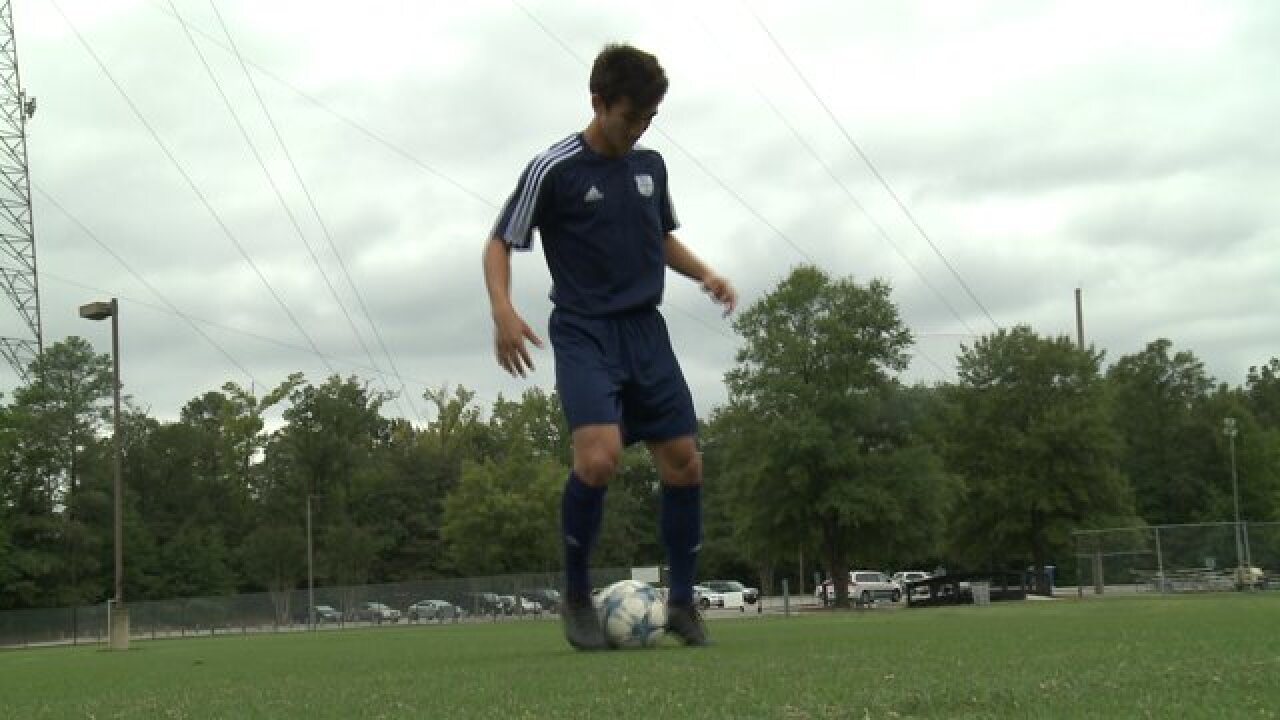 Chesterfield soccer phenom is ready for the world