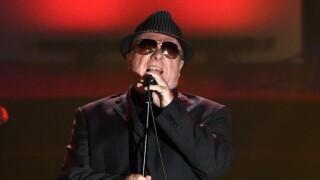 Van Morrison sings in 2015