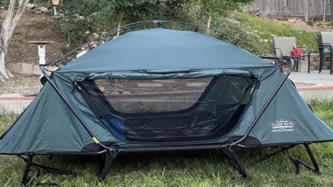 Tent Cot Looks Like The Most Comfortable Way To Camp
