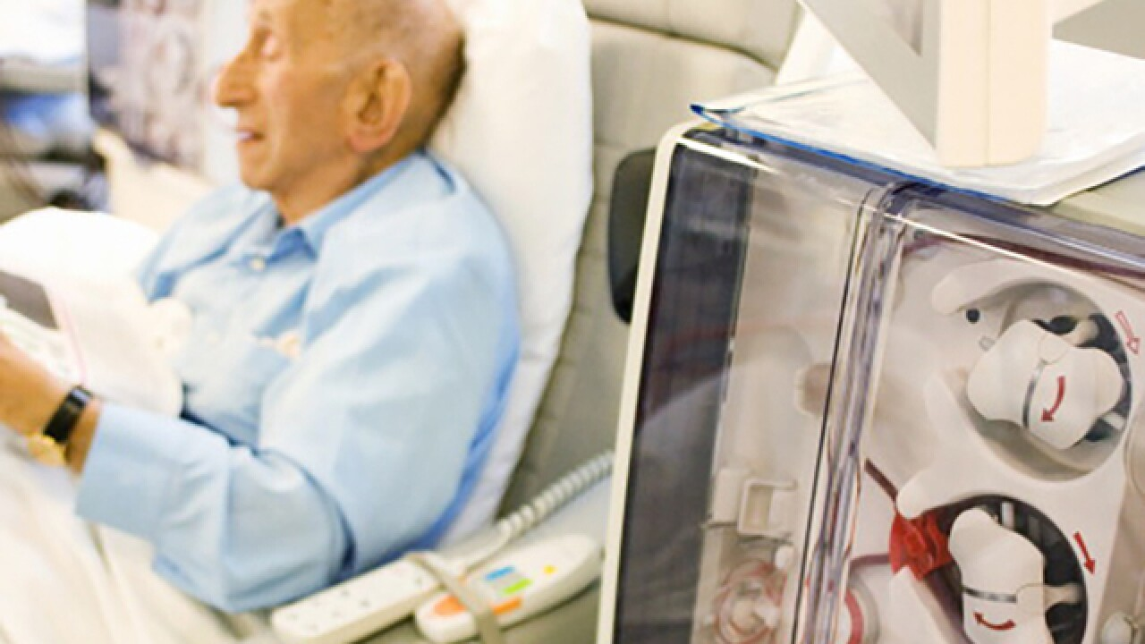 Elderly dialysis patients have higher risk of cognitive problems like dementia, study says