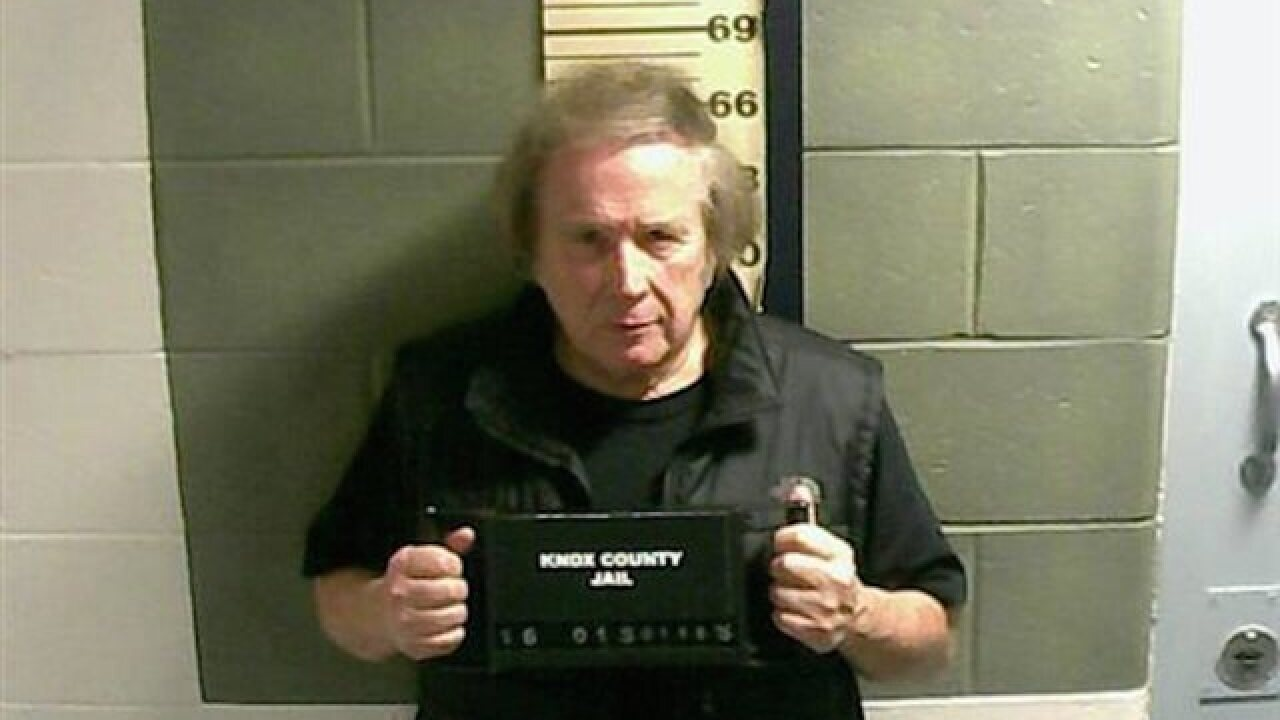 Don McLean arrested on domestic violence charge
