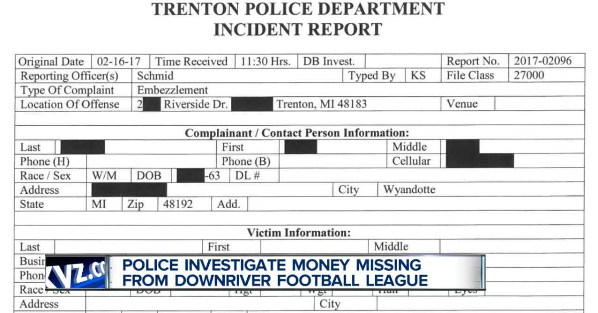 Police investigate alleged embezzlement from Downriver