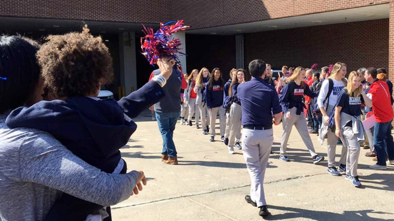 Belmont Women's Team Leaves For NCAA Tournament