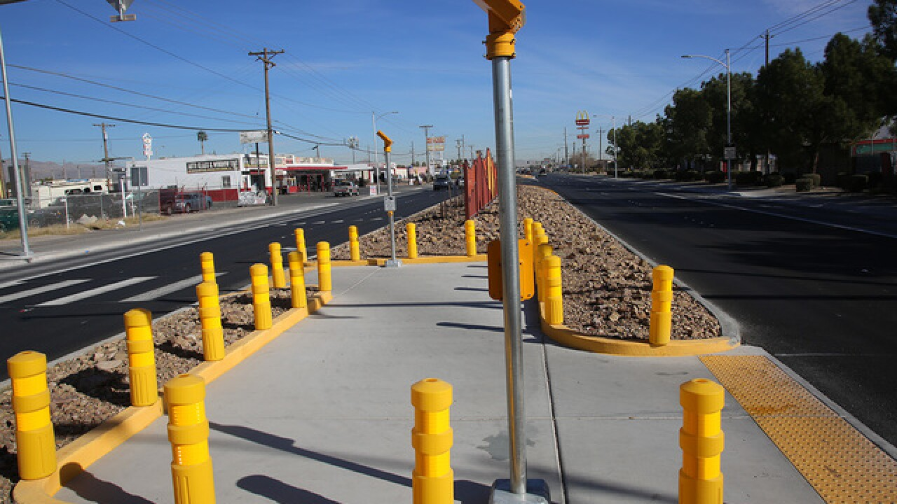 Upgrades completed on Las Vegas Boulevard