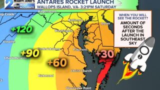 Rocket Launch Rescheduled To Saturday