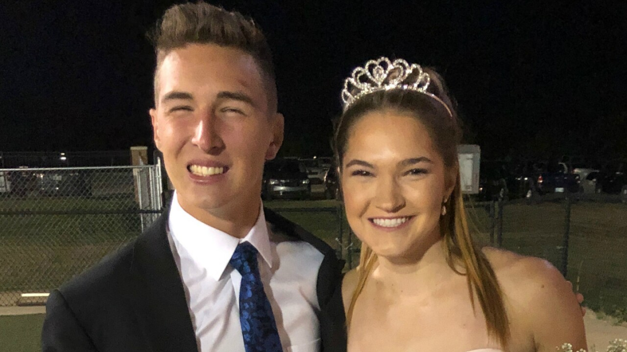 High school runner who overcame traumatic brain injury crowned homecoming king