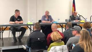 Collective Bargaining ballot question debate draws full house