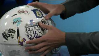 Friday Football Fever - Helmet Stickers (Week 4)