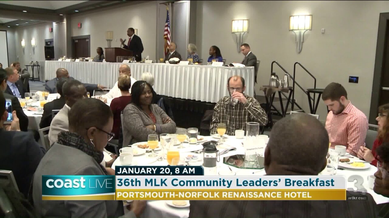 A preview of the 2020 Martin Luther King Jr. Community Leaders' Breakfast on CoastLive