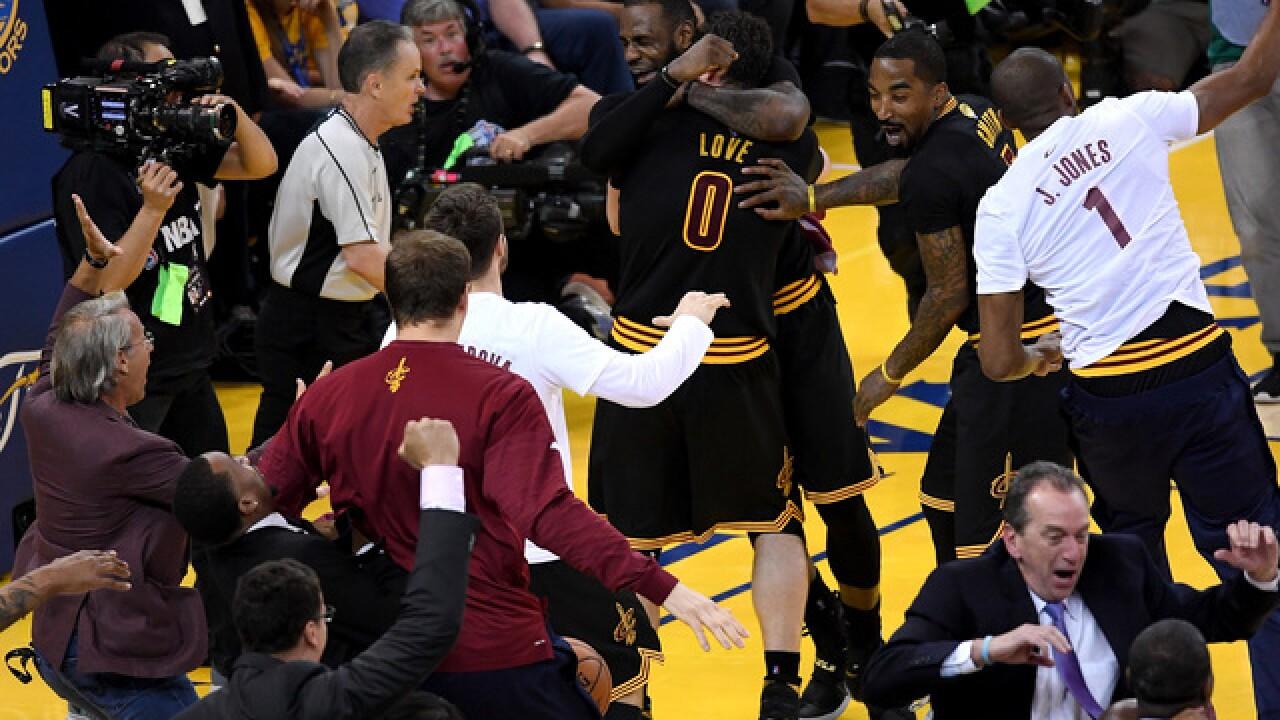 PHOTOS: Cavs win the 2016 NBA Finals