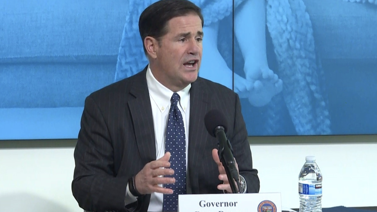 Governor Ducey cans formal coronavirus press conference this week after 'feedback'