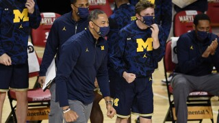 Juwan Howard Michigan Maryland Basketball