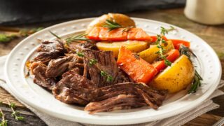 This Slow-Cooker Pot Roast Recipe Could Not Be Any Easier