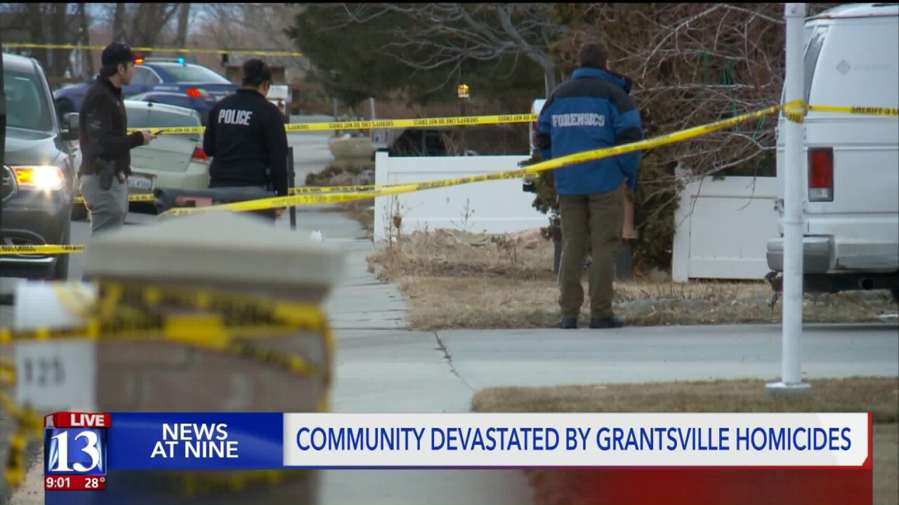 'A lot of tears shed on our street': Community reacts to Grantsville shooting