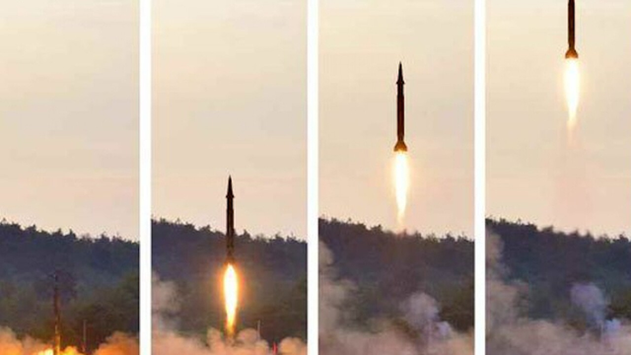 North Korea performs third missile test in 3 weeks