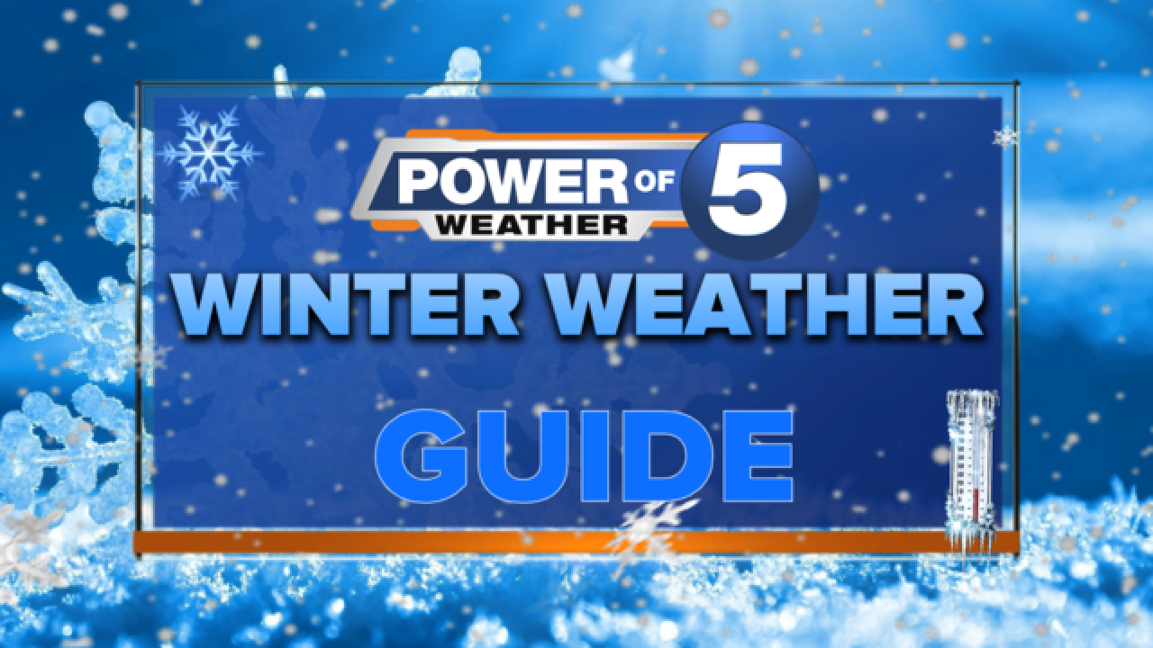 WINTER WEATHER GUIDE: Be winter-ready with the Power of 5 Weather team