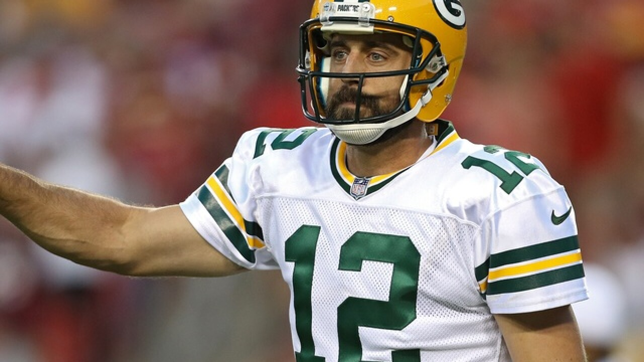 Rodgers finishes preseason play in short order