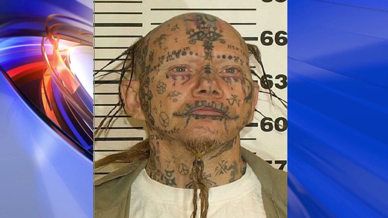Tattoo-covered sex offender captured in WashingtonDC