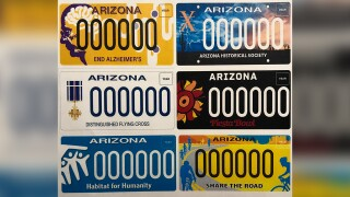 Charitable license plates available as of August 2020