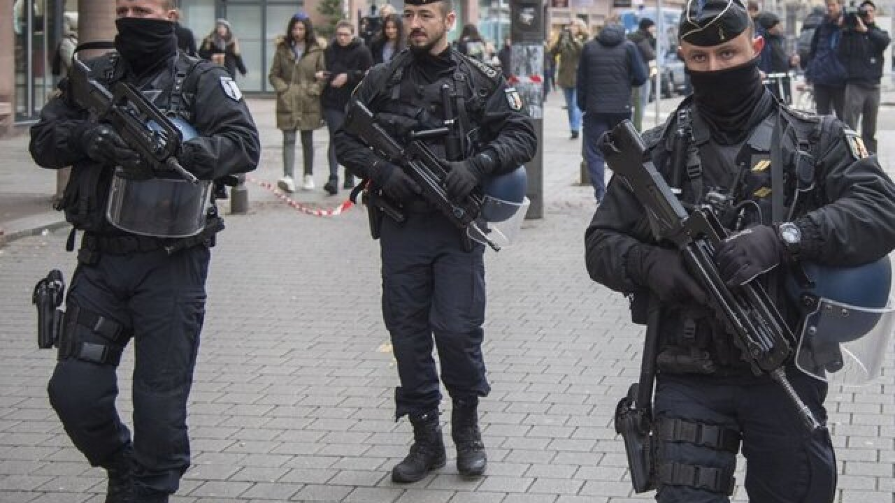 Strasbourg shooting suspect killed by police, Paris authorities say