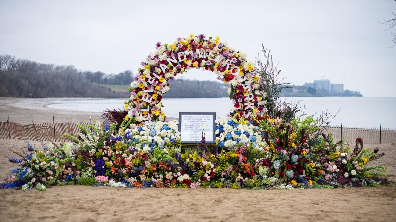 Floral design at the Cleveland Metroparks. Cleveland Metroparks/Kyle Lanzer.