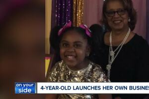 4-year-old Cleveland entrepreneur launches baked goods business