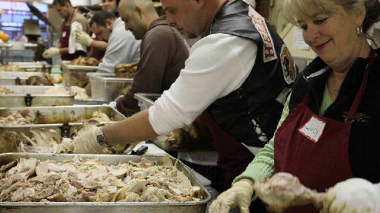 Organizations feeding those in need on Christmas