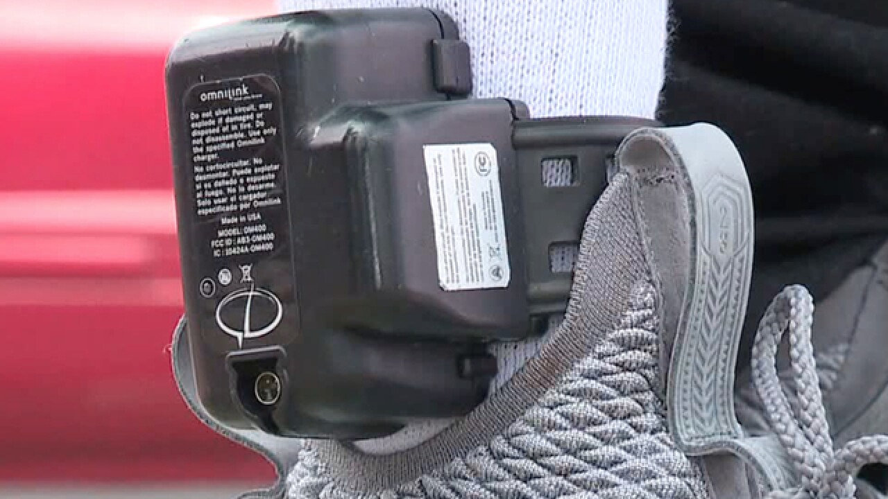 Sailor demands change in Ohio ankle monitor law