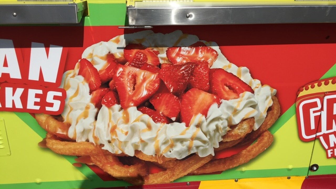 Food at the 2015 Tulsa State Fair