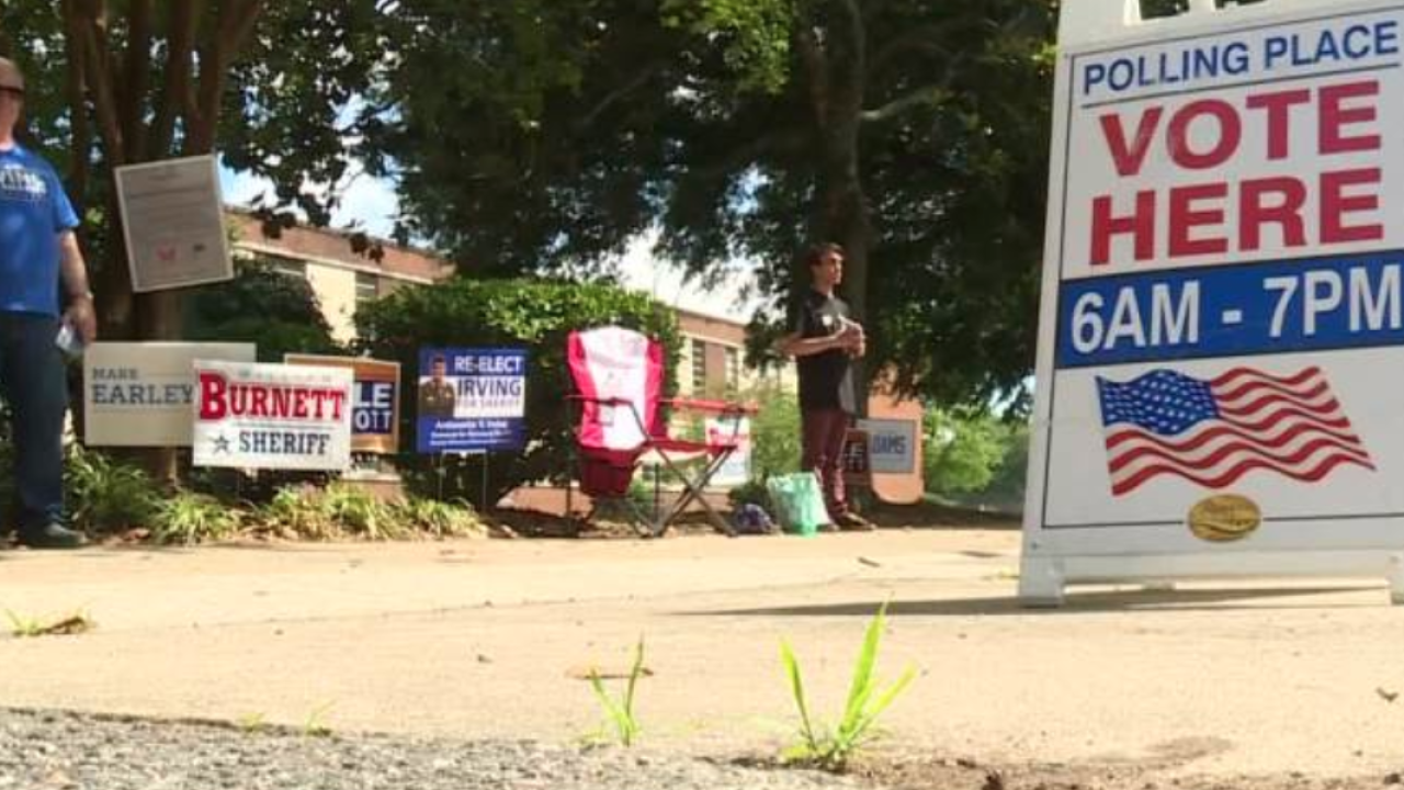 Polling places report slow turnout on Primary Day
