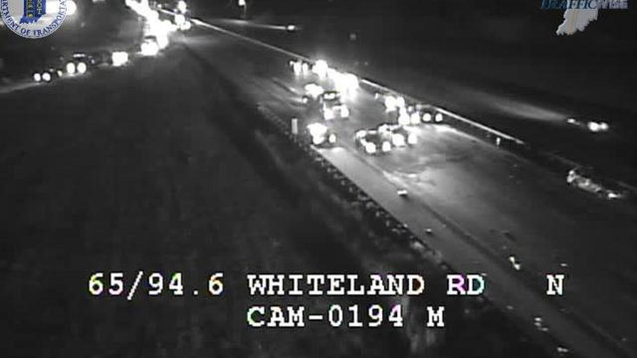 I-65 southbound closed near Whiteland after multi-vehicle