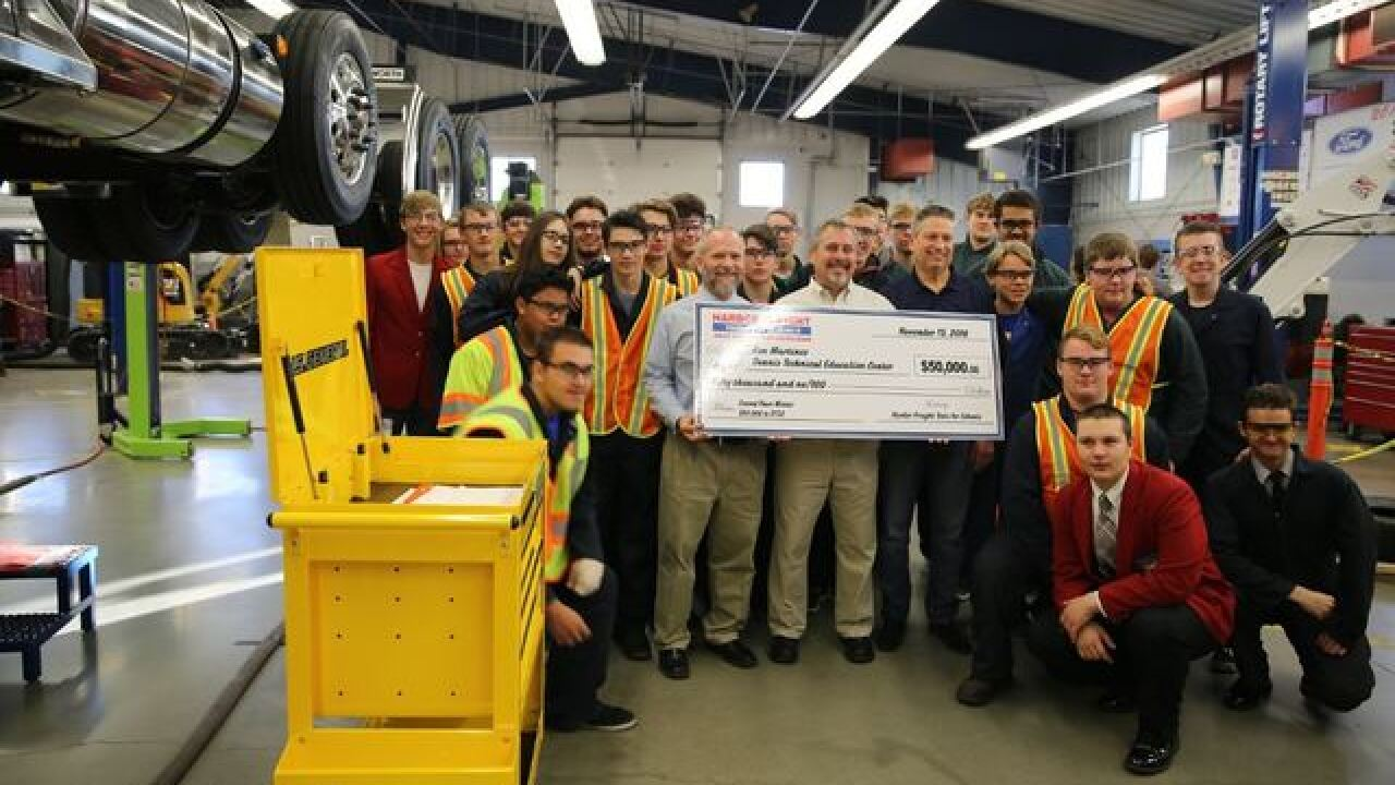 Teacher wins $50,000 for Boise trade school