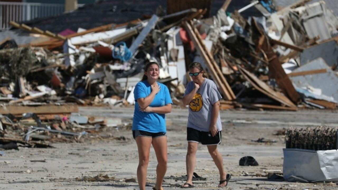 Hurricane Michael taking aim at north Florida