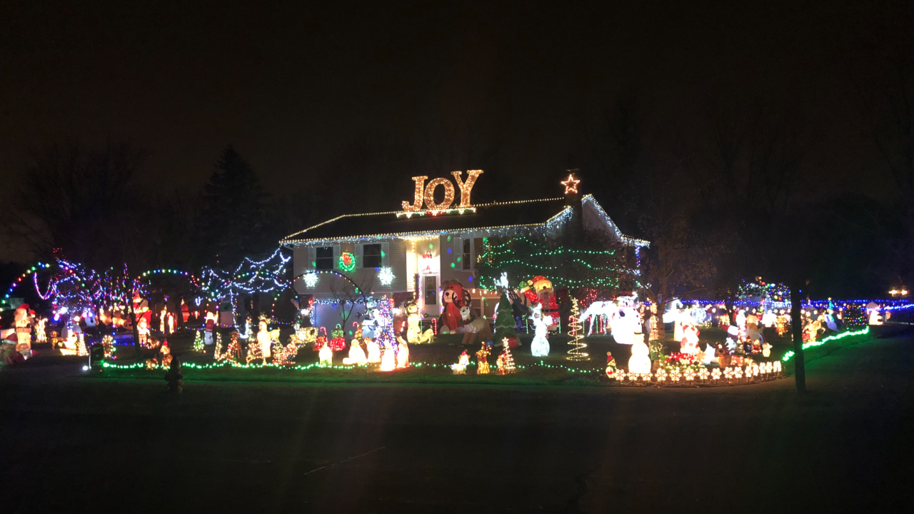 2020 Medina County Christmas Lights Home Displays Brunswick couple's holiday lights display attracts folks from all