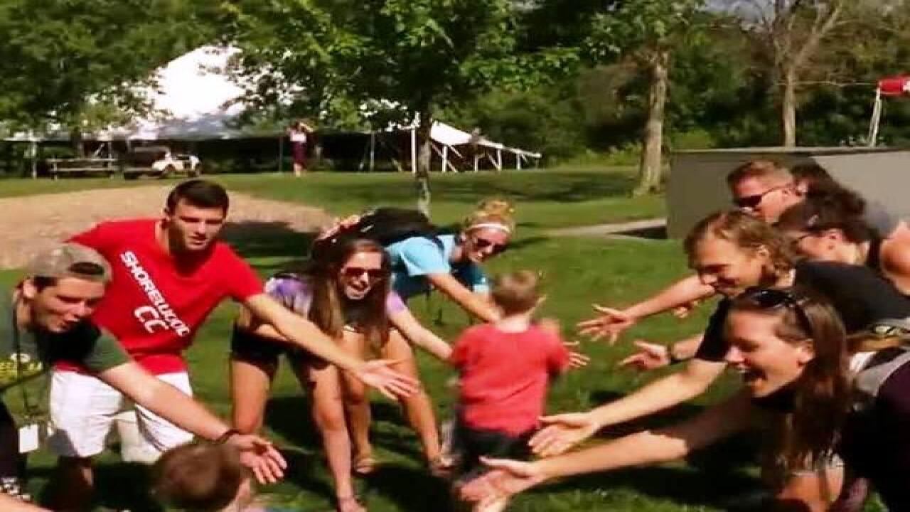 JCC Day Camp hosts kids from Children's Hospital