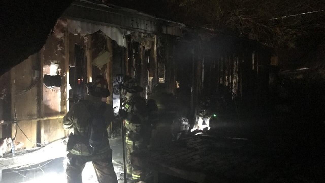 Fire destroys northwest side home