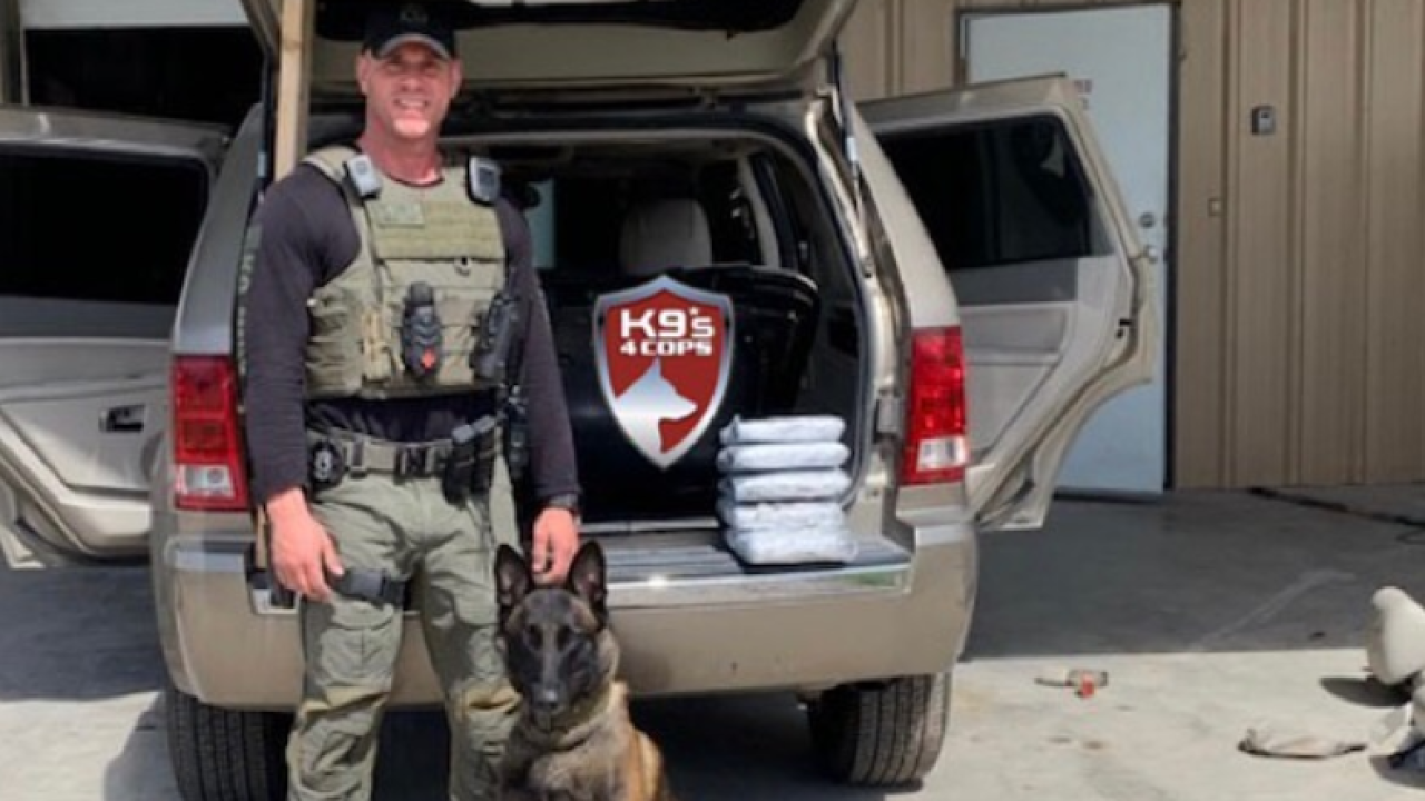 Fayette County Narcotics K-9 Unit Seizes 15 Pounds of Fentanyl with a street value of $100 Million Dollars Pic 1