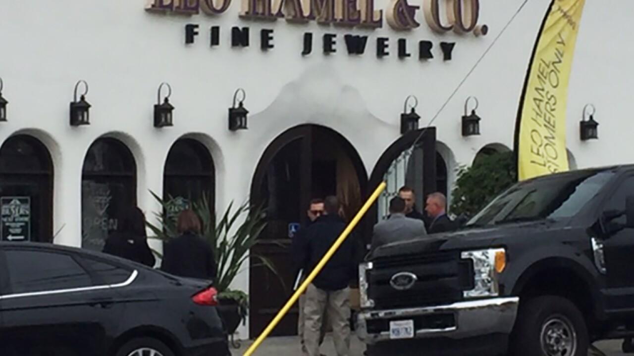 FBI, ATF raid home, businesses of prominent San Diego jeweler Leo Hamel