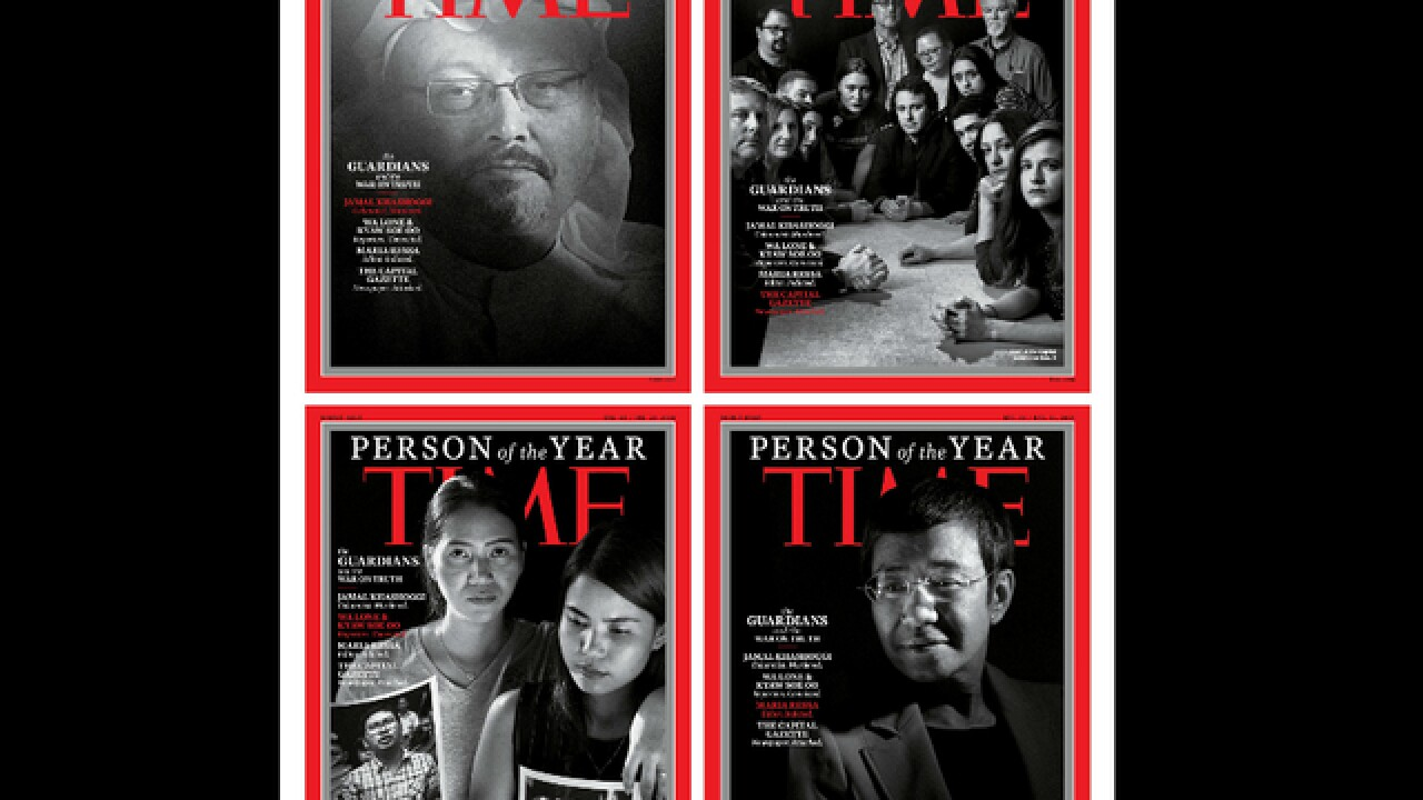 Time's 2018 Person of the Year: 'The Guardians'