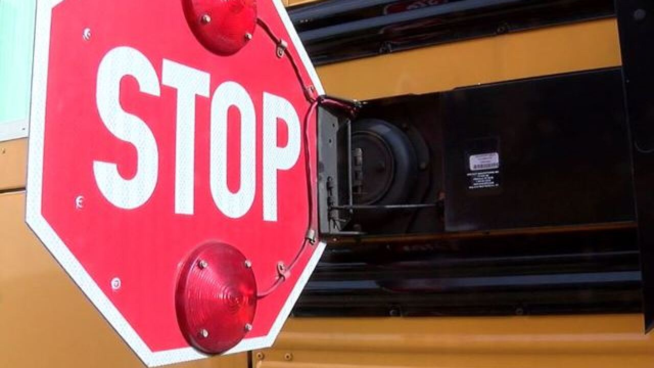 Child struck by car after exiting a school bus in Maryland