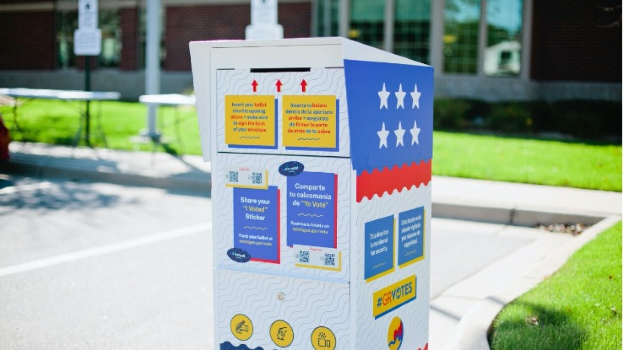 Absentee ballot dropoff box Grand Rapids.jpg
