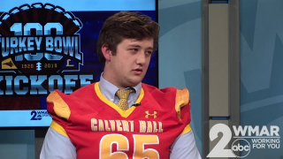 Turkey Bowl 100: Calvert Hall's Daniel Novotny