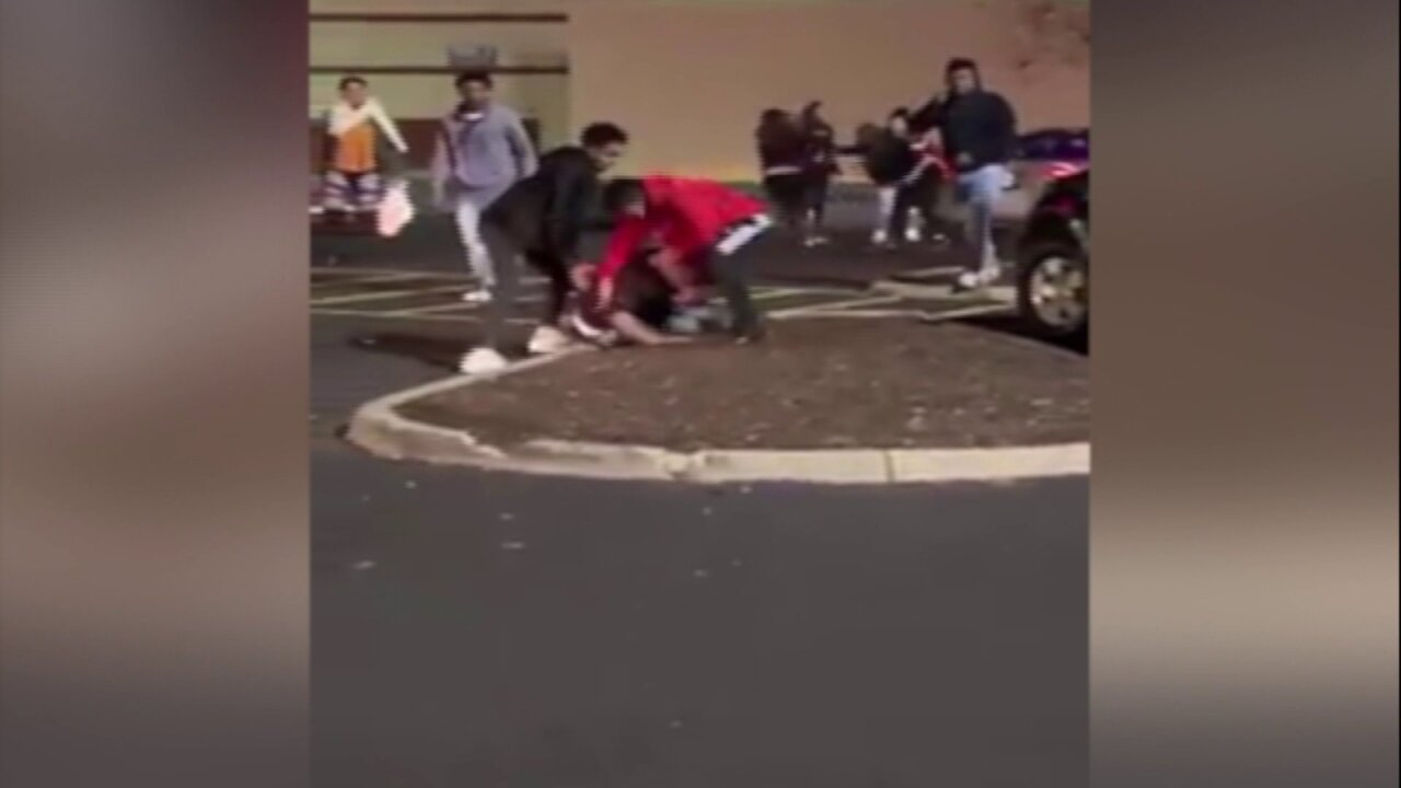 Video shows pregnant woman attacked in mall parking lot onThanksgiving